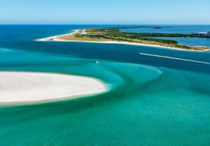 Caladesi Island State Park (l) and Honeymoon Island State Park (r)